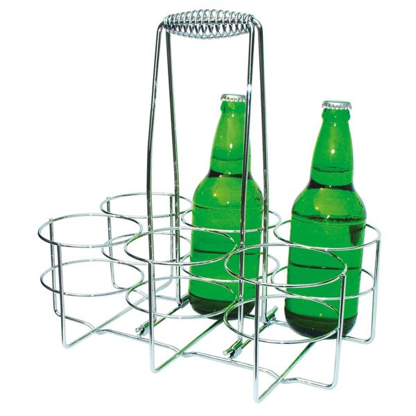 Företagsjulklappar - Ölställ För 6 Flaskor 00630