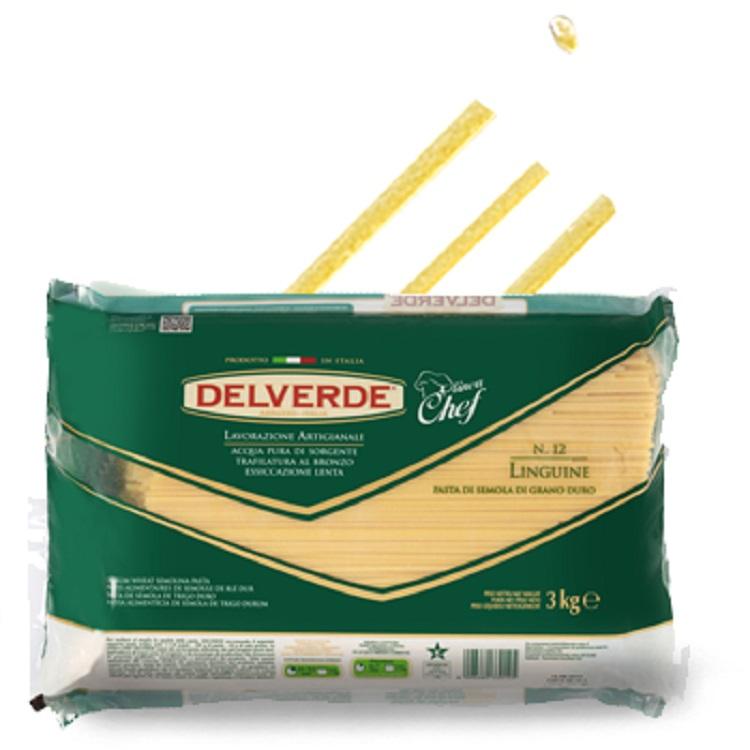 Pasta Delverde Linguine 3KG Spaghetti
