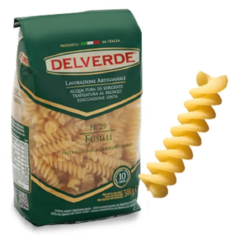 Pasta Delverde Fusilli 500G