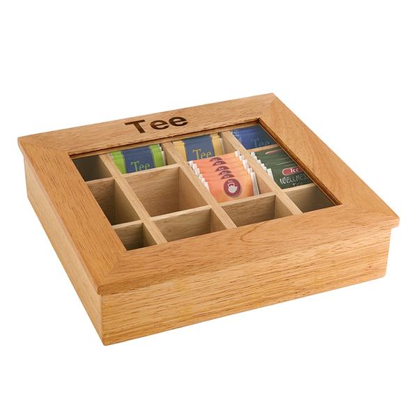 Te Box Ljusbrun 12 Fack 11775