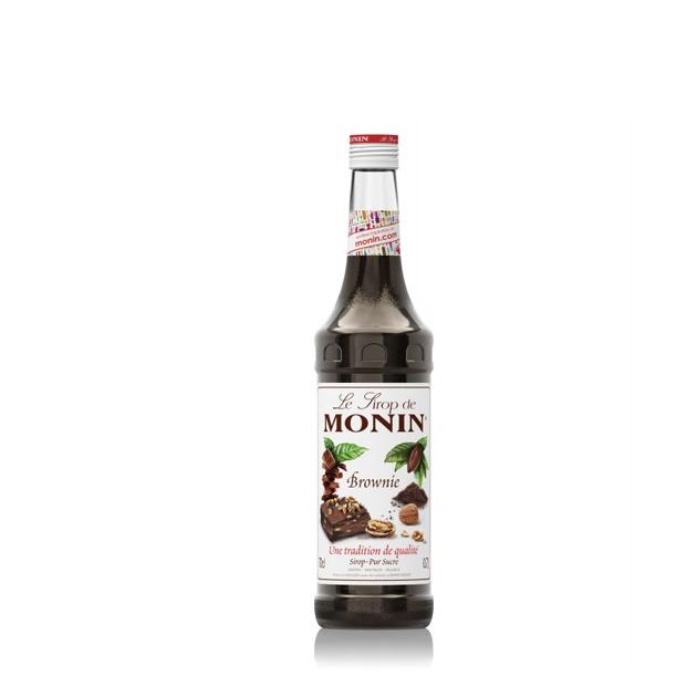 Företagsjulklappar - Monin Brownie 70cl