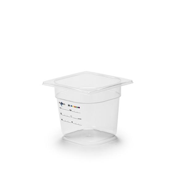 Företagsjulklappar - Kantin GN 1/6-150 PP-Plast Bisfenolfri HACCP***