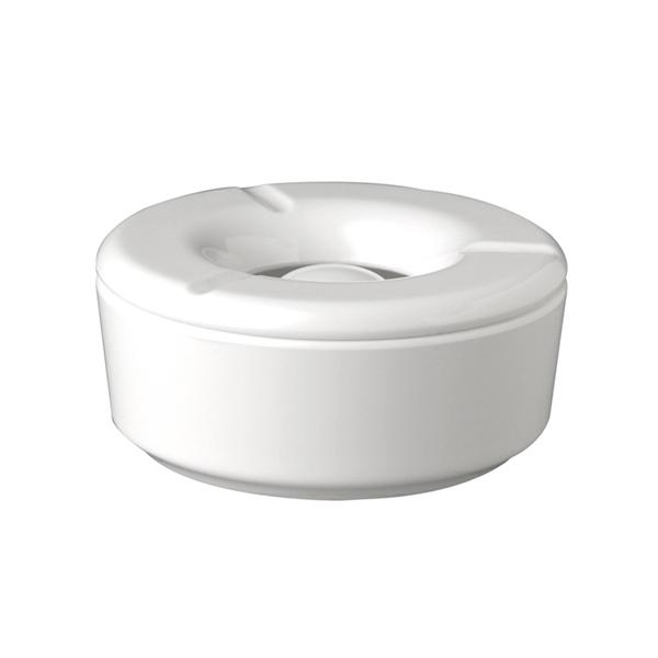 Företagsjulklappar - Askkopp Vit Melamine H:5cm 83488