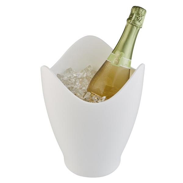Företagsjulklappar - Champagnekylare Vit 36080