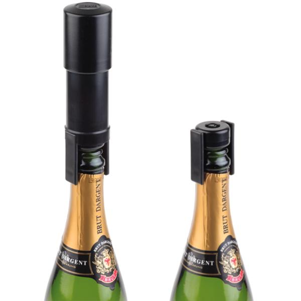 Champagnekonservator Svart APS
