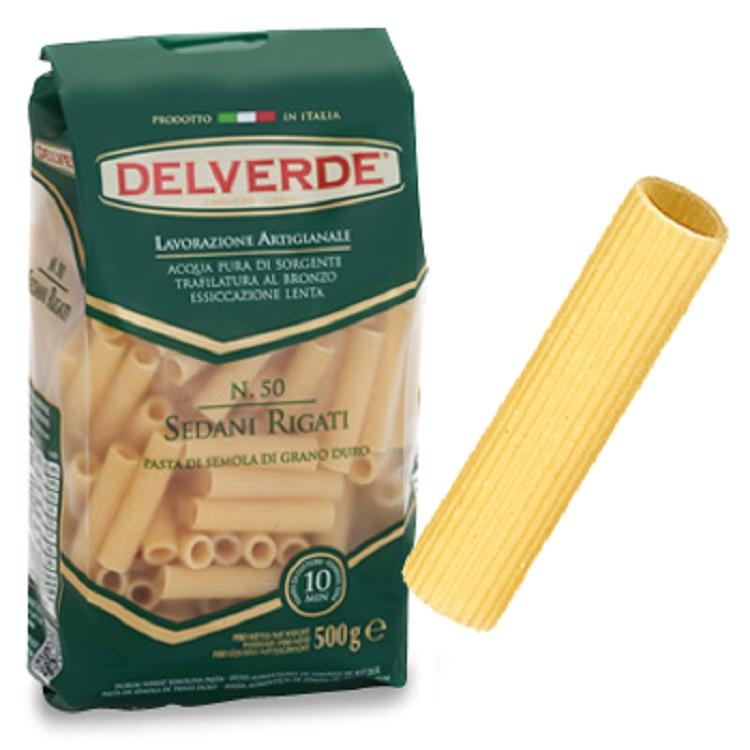 Pasta Delverde Sedani Rigate 500G