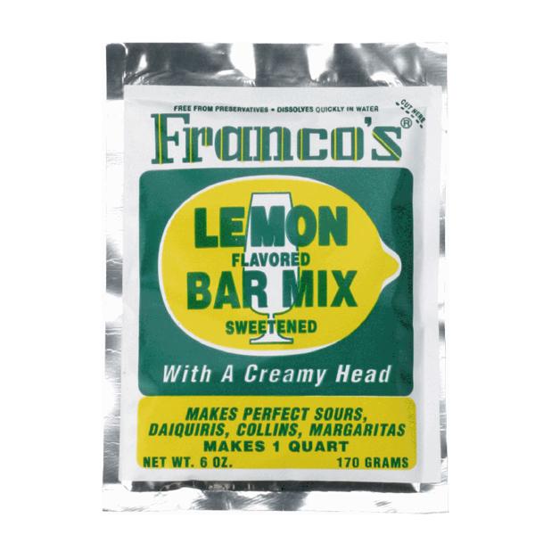 Företagsjulklappar - Francos Lemon Sweet & Sour 170g