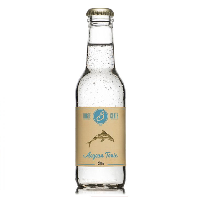 Three Cents Aegean Tonic 20CL/24-Pack