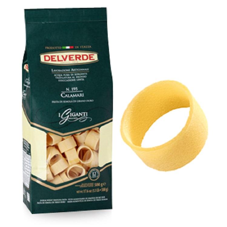 Pasta Delverde Calamari 500G