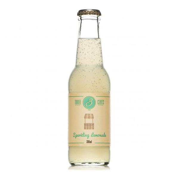 Three Cents Sparkling Lemonade 20CL/24-Pack