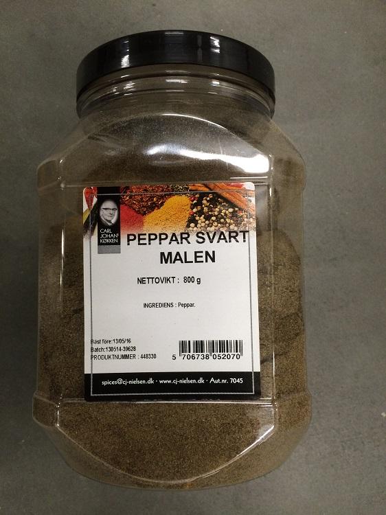 Krydda Svartpeppar Malen 800G Nielsen