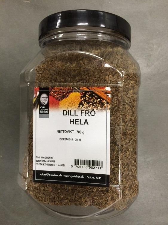 Krydda Dillfrö 700G Burk Nielsen