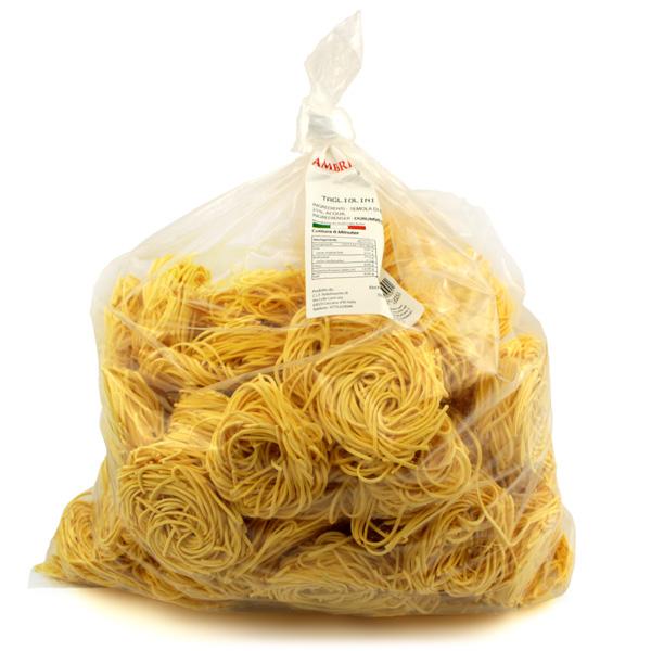 Äggpasta Tagliolini 2,5KG Ambris Italien