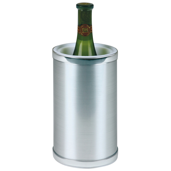Företagsjulklappar - Flaskkylare Högblank Rostfri 36036