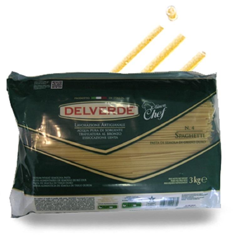 Pasta Delverde Spaghetti 3KG