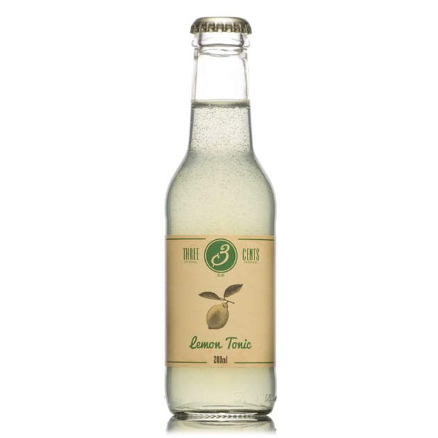 Företagsjulklappar - Three Cents Lemon Tonic 20CL/24-Pack