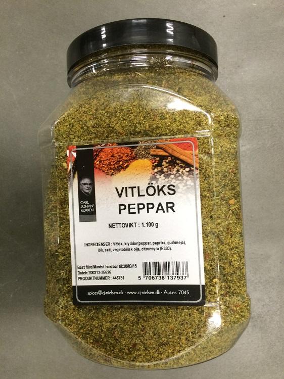 Krydda Vitlökspeppar 1,1KG Nielsen