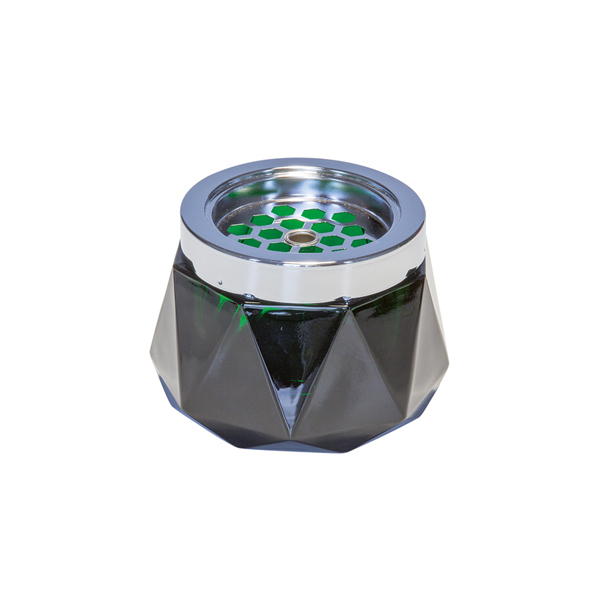 Askkopp Grön Glas 567