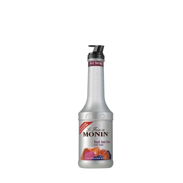 Företagsjulklappar - Monin Red Berriespurè  1L