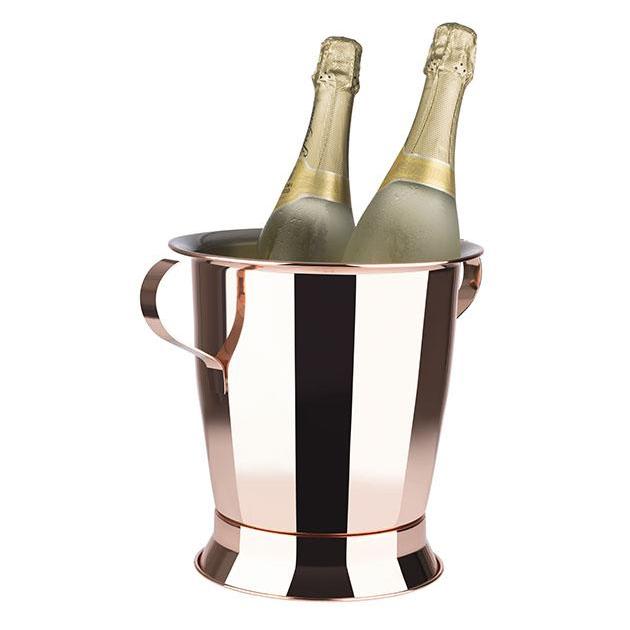 Företagsjulklappar - Vin & Champagnekylare Blank Koppar 5L 36093