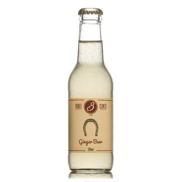 Företagsjulklappar - Three Cents Ginger Beer 20CL/24-Pack