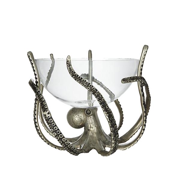 Företagsjulklappar - Octopus Skål På Tentakelstativ