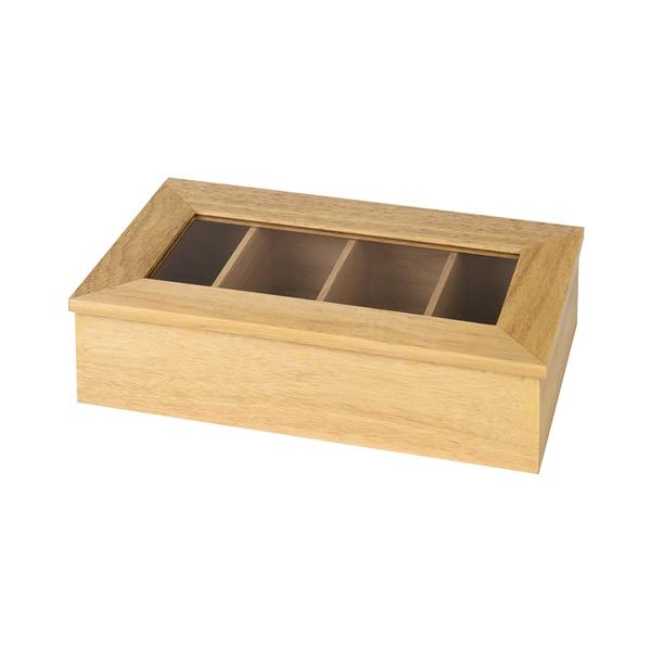 Företagsjulklappar - Thé låda i trä