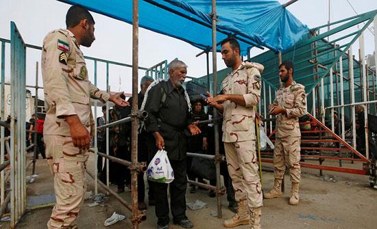 إيران توقف إيفاد الزوار إلى العراق نظرا للأوضاع الأمنية فيه