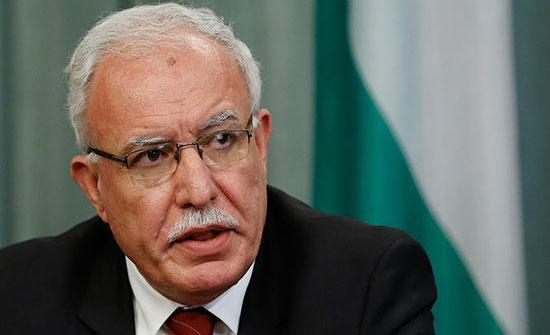 وزير الخارجية الفلسطيني: استهداف الاحتلال للحرم الإبراهيمي جريمة حرب