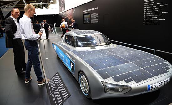 صور : أجمل ما جاء في المعرض الدولي للسيارات في فرانكفورت