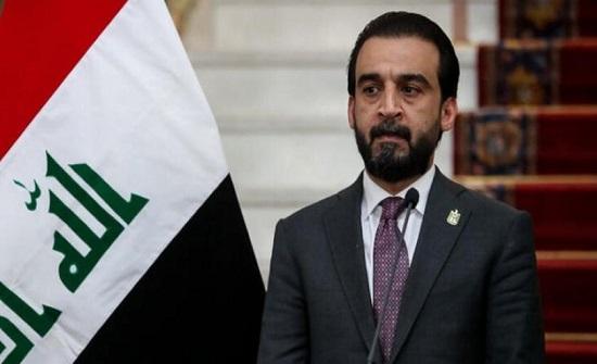 رئيس البرلمان العراقي يدعو لحماية المتظاهرين