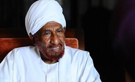 """استقالة الصادق المهدي من رئاسة تحالف """"نداء السودان"""""""