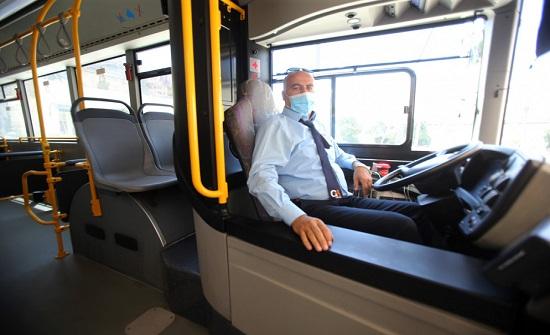 أكثر من 25 ألف راكب استخدموا الباص السريع منذ بدء تشغيله