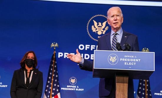 بايدن وهاريس يشاركان في حملة انتخابية قد تحدد المسيطر على مجلس الشيوخ الأمريكي
