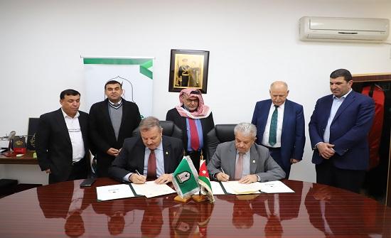 توقيع مذكرة تفاهم بين اليرموك وجامعة تشيك في كردستان العراق