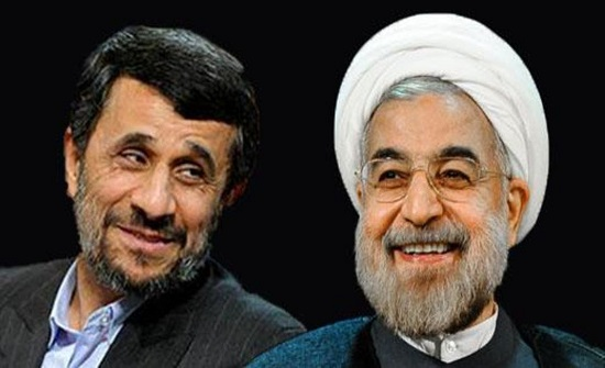 أحمدي نجاد قارن حسن روحاني بأضعف الشاهات في تاريخ إيران