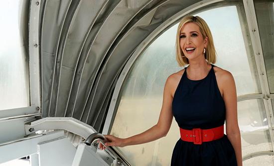 بـ فستان مبهج.. إيفانكا ترامب تتألق في روما مع زوجها