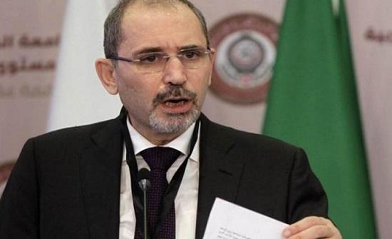 وزير الخارجية البلجيكي للصفدي: موقفنا رافض للضم ومتمسك بحل الدولتين