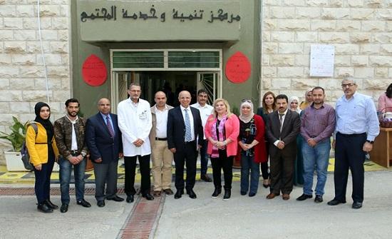 """مركز تنمية وخدمة المجتمع في """"الجامعة الأردنية"""" ينظم،،، """"تبرعكم يساوي حياة"""