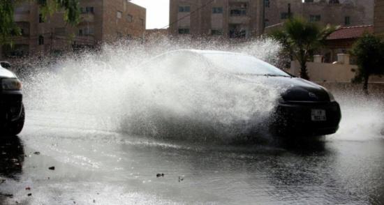 الأرصاد: كميات أمطار كانون الأول دون معدلاتها الشهرية العامة