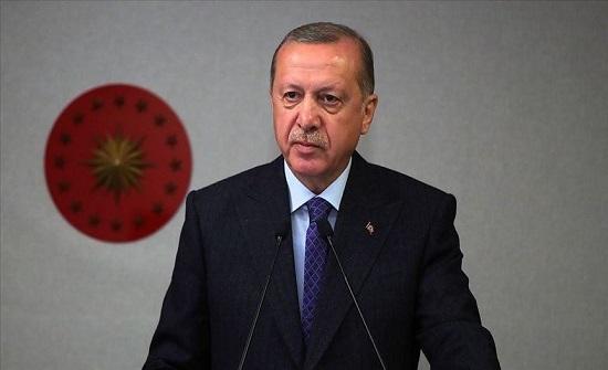 """أردوغان: ندعم حكومة ليبيا الشرعية لإقامة """"واحة سلام"""" بالمنطقة"""