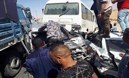 بالفيديو : 3 وفيات و 20 إصابة بحادث الضبعة
