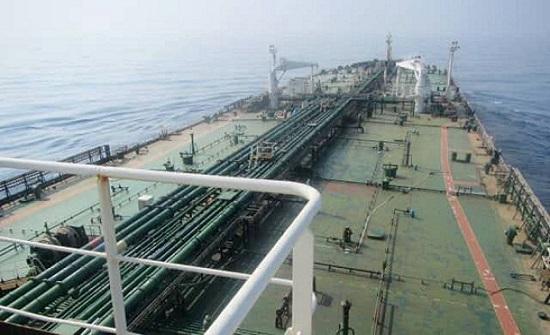 السعودية: الناقلة الإيرانية تعرضت لكسر تسبب بتسرب نفطي