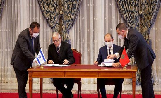 المغرب وإسرائيل يوقعان اتفاقا للشراكة في مجالات الاقتصاد والتجارة والتكنولوجيا