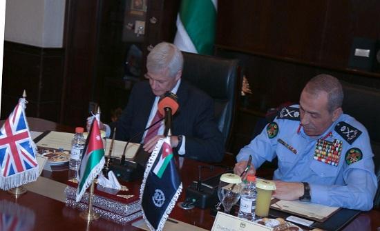 مديرية الأمن العام توقع مذكرة تفاهم وتعاون مع وزارة الخارجية البريطانية
