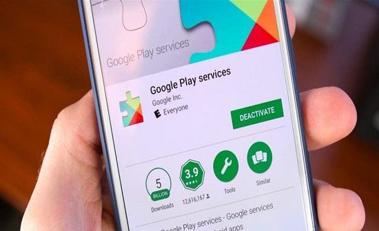 تحديث خدمات غوغل بلاي على أجهزة أندرويد