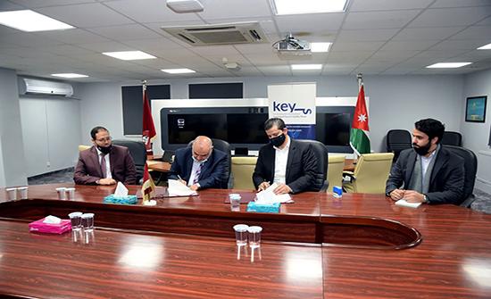 مذكرة بين الجامعة الهاشمية ومفاتيح لتنفيذ مشاريع تنموية