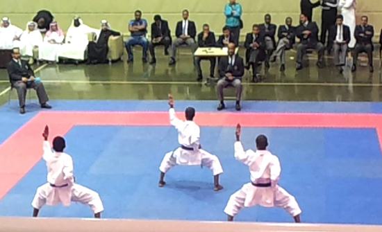 350 لاعبا يشاركون في بطولة المملكة للكراتيه