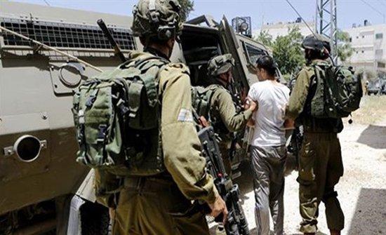 الاحتلال الاسرائيلي يعتقل 25 فلسطينيا بالضفة الغربية