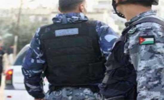 الامن : الضابط المصاب في الرصيفة